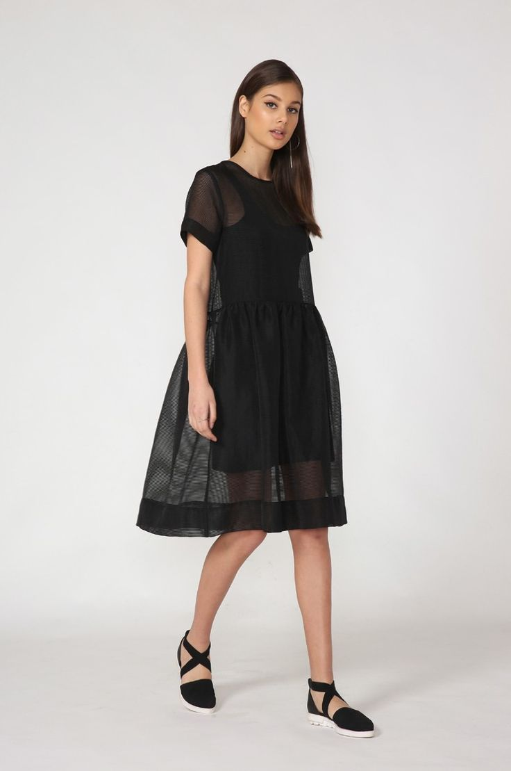 jinx dress / black by Moochi. Everyday luxury, from off-duty essentials to coveted designer pieces. Buy Now!