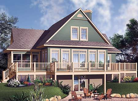 178 Best Homes U0026 Cottage Style Plans! Images On Pinterest | Facades,  Architecture And Cottage House Plans
