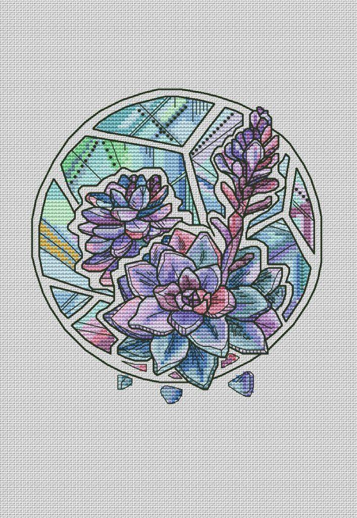ботаническая серия Алисы Окнеас
