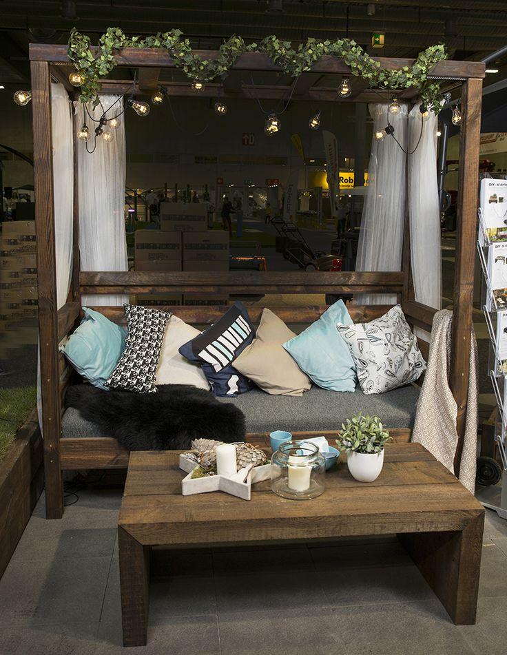 Lag dine egne bord, utekjøkken, benker, solsenger, øl-kjølere med våre sviller, lekter, MULTIstolper og terrassebord.