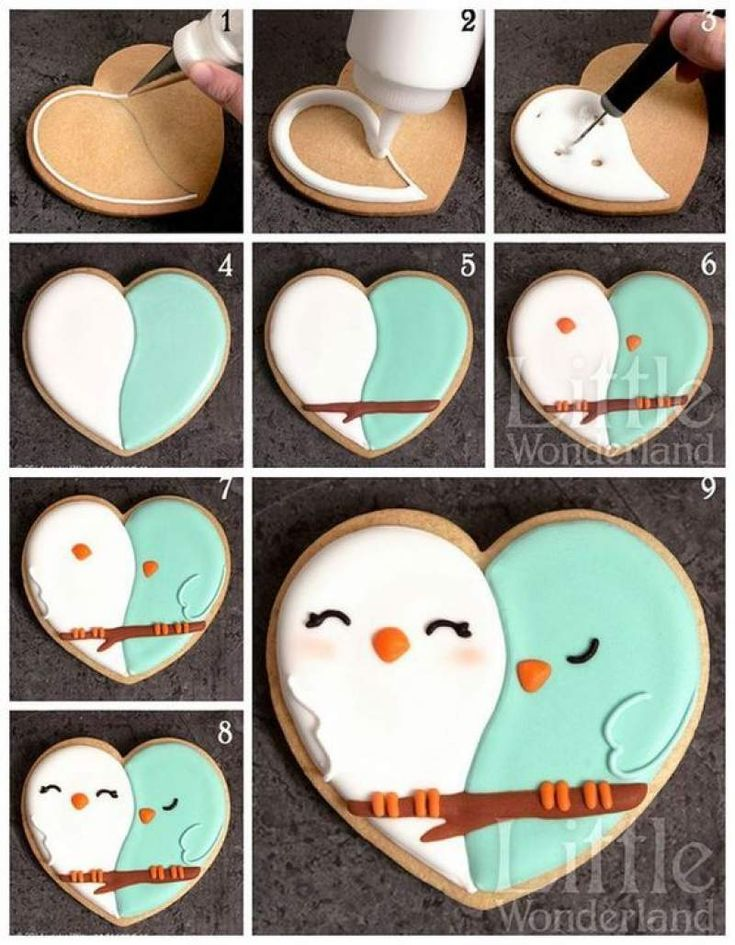 60 Heart Shaped Valentine's Day Cookies that'll get you to go Ooh LaLa