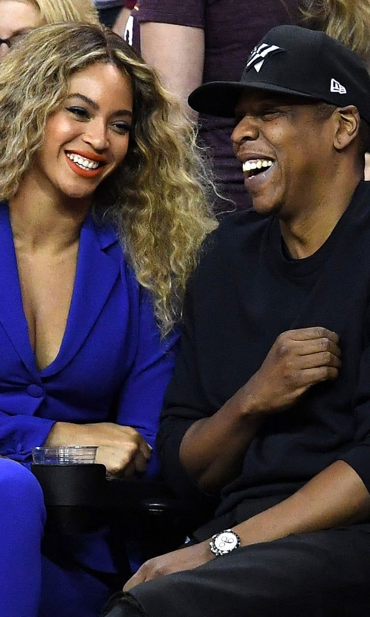 Pin for Later: Beyoncé and Jay Z Easily Outshine LeBron James and Stephen Curry With Their Cute Outing at the NBA Finals