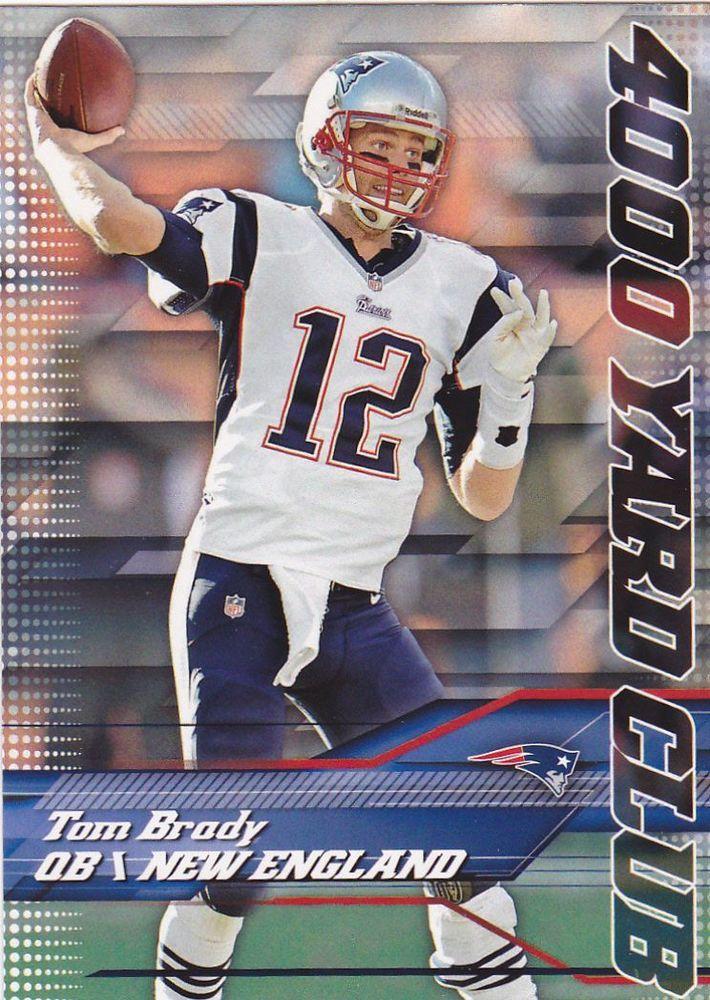 Tom Brady 2014 Topps 4000 Yard Club Insert Card #8   MINT FROM PACK #PATRIOTS