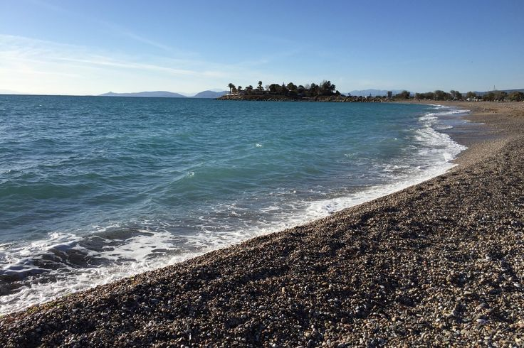 Beautiful Greece! Sunny day at the sea! Perfect weekend!
