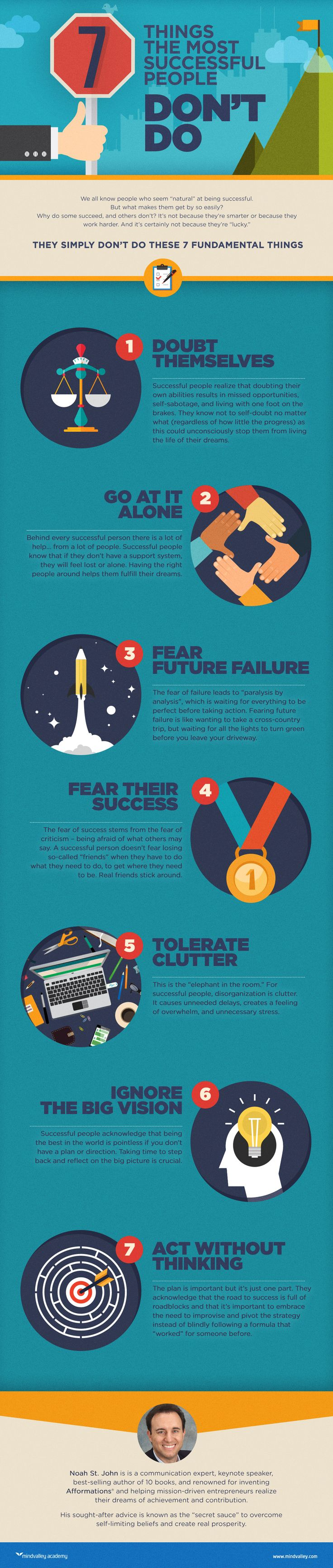 7 Things the Most Successful People Don't Do | Mindvalley Academy - 02.05.2015