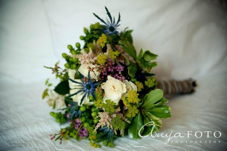 anyafoto.com, wedding bouquet, bridal bouquet, garden bouquet, green bouquet, white bouquet, eclectic bouquet, white, purple