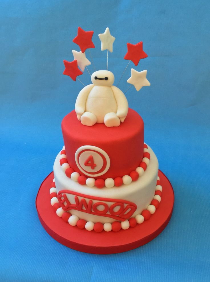 10 best images on Pinterest Baymax Birthday cakes and