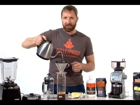 How to Make Bulletproof® Coffee (The Official Video) not a coffee drinker, but will make a good gift.