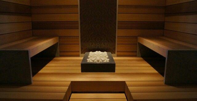 Lämpölaude | Unico art- laudemalli. Saunan lauteet valmistettu jättiläistuijasta.