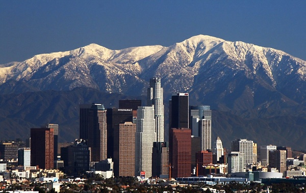 L.A.Los Angels Skyline, California Travel, Mountain, North America, Losangeles, Cities Skyline, Los Angeles, 60, United States