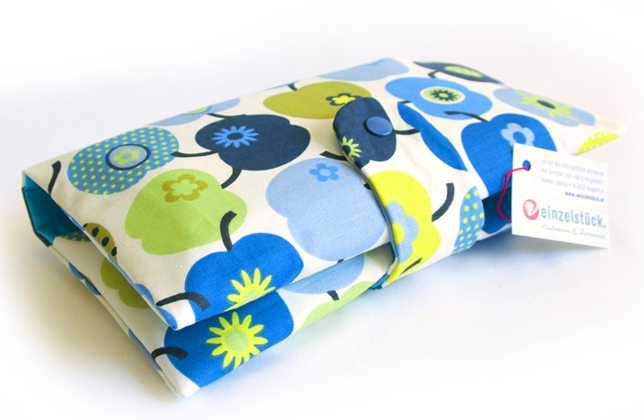 diaper bag with apples