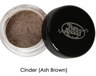 Pure Anada Loose Mineral Brow Powder in Cinder (Medium Ash Brown) - $4