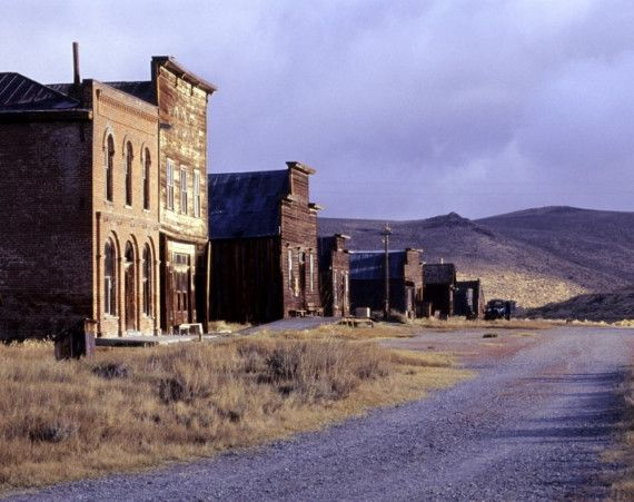 Ghost Towns - Main Street No. 3 - Bodie, California ghost town