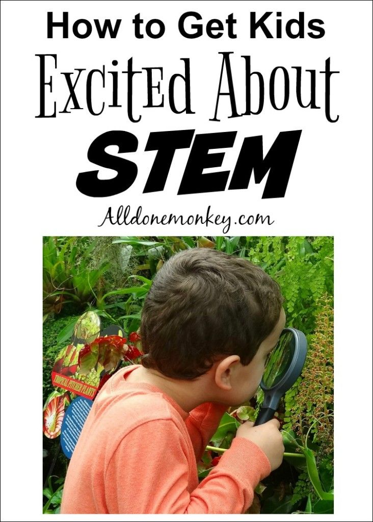 Encourage your child to think like a scientist! Here are fun ways you can get kids excited about STEM, plus resources to help them explore.