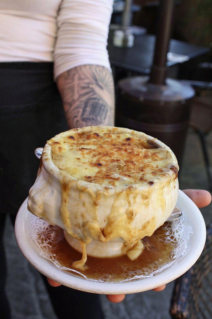 The Canyon Bistro's French Onion Soup | Malibu Kitchen
