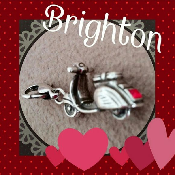 New Brighton Vespa Moped Clip on Charm New Brighton Vespa Moped Clip on Charm Brighton Jewelry