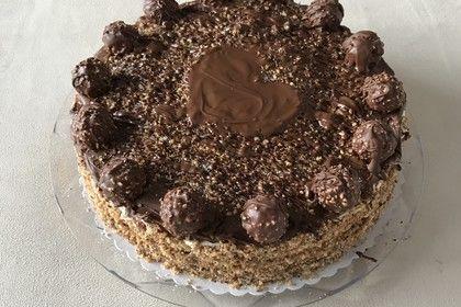 Ferrero - Rocher - Torte 1