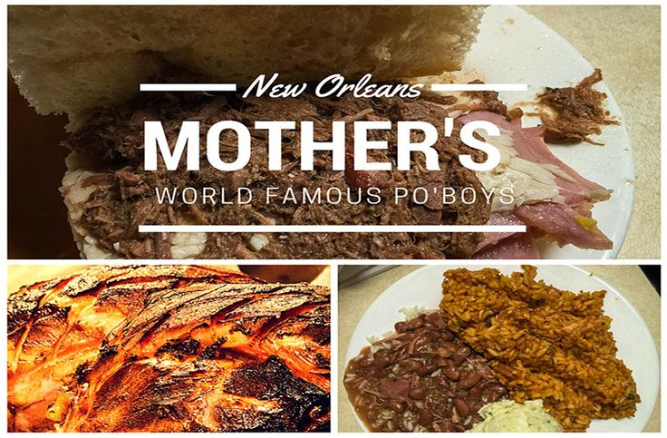If you are looking for amazing cajun and creole cuisine, take a look at the world famous Mothers New Orleans menu. You won't leave disappointed or hungry!