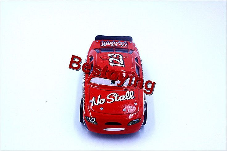 Pixar Cars 2 No Stall NO.123 1:55 Scale Diecast Metal Alloy Modle Cute Toys For Children Gifts by Registered Mail