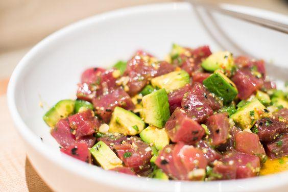 Maui Avocado & Tuna Poke recipe on Food52.com