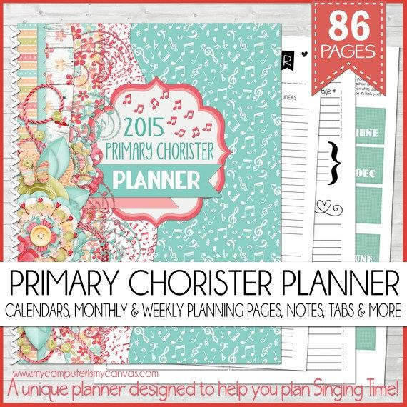 Planning a fun and productive Singing Time, whether your Primary is big or small, is a tough job and it takes a lot of planning and