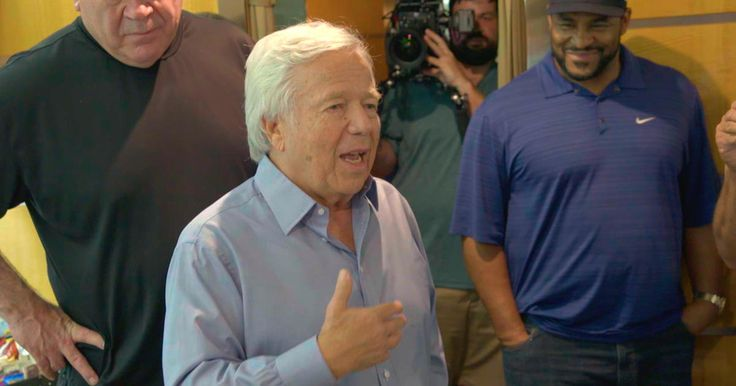 Robert Kraft takes 18 Hall of Fame Players on the trip of a lifetime to Israel. Here's a sneak peek of their take off !