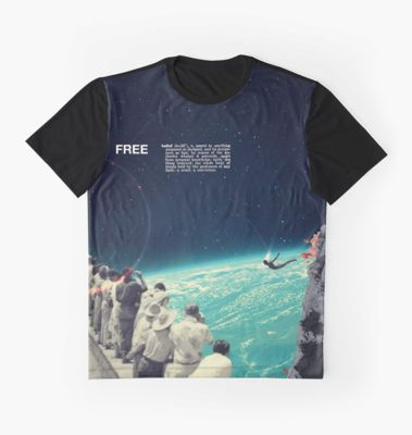 Free - Graphic Tee by Frank  Moth in Redbubble