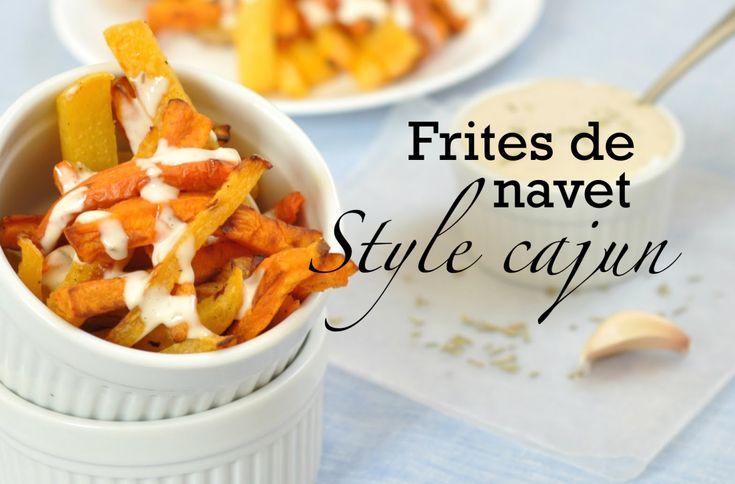 Frites santé - frites de navet style cajun