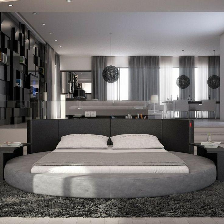 Lit Rond Baldaquin Moderne | urbantrott.com