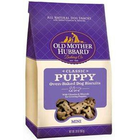 OLD MOTHER HUBBARD MINI PUPPY BISCUIT TREATS 20OZ