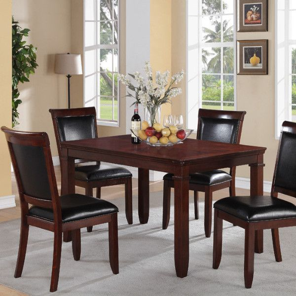 Dallas 5 Piece Dining Group By Standard Furniture Get Your At Affordable Rent To Own Abbeville LA Store