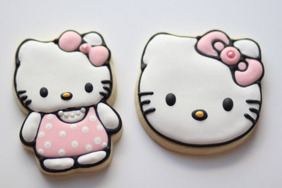 Hello Kitty Faces and Bodies by AnniesSweetTreats on Etsy, $26.00