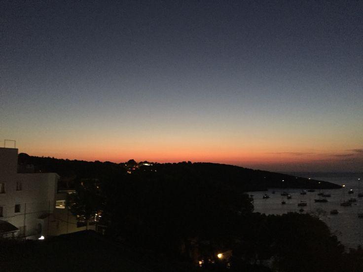 Sunset in Portinatx