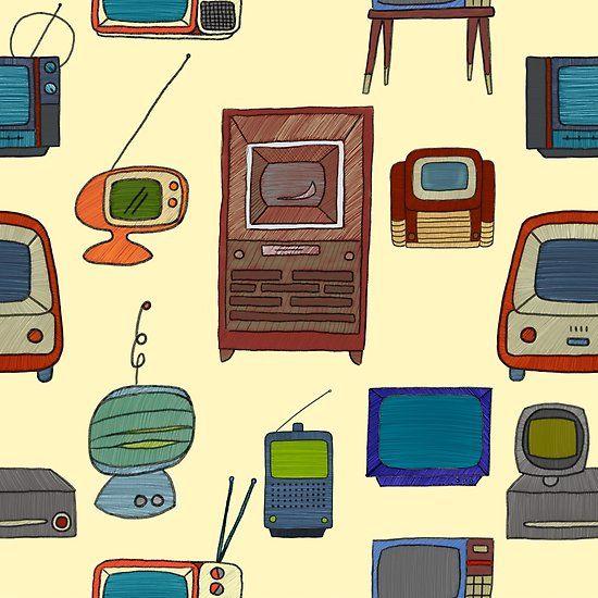 Vintage Television Sets