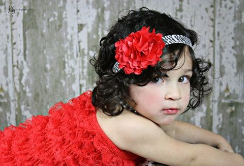 Heart Flower on Zebra Print Headband – Modesty Girl Bowtique