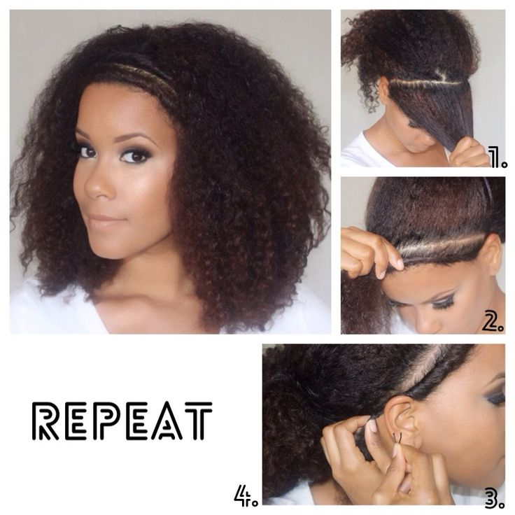 Enjoyable 1000 Ideas About Easy Curly Hairstyles On Pinterest Hair Tricks Short Hairstyles For Black Women Fulllsitofus