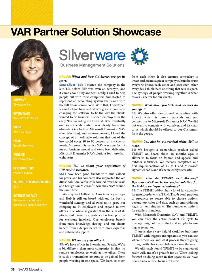 TRIMIT partner Silverware. #TRIMIT