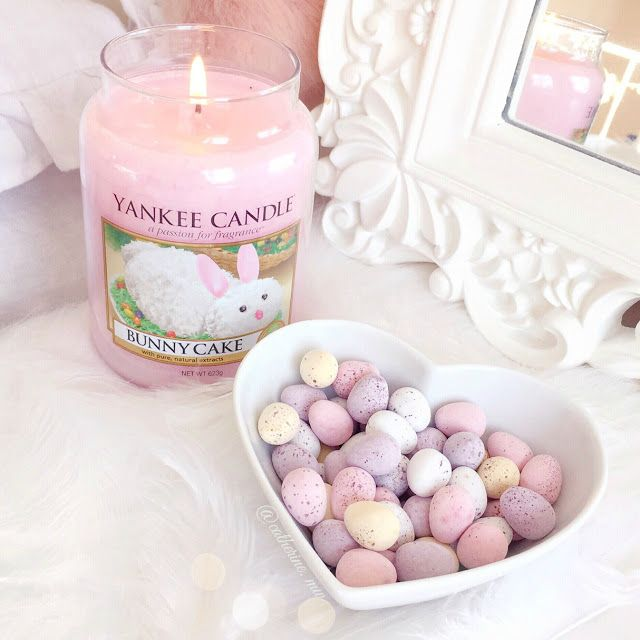 Yankee Candle Bunny Cake & Mini Eggs Chocolates  lovecatherine.co.uk Instagram catherine.mw xo