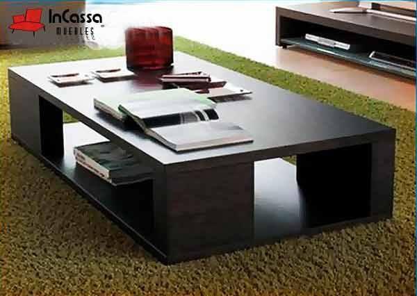 Mesa de centro minimalista mod caracas medidas cubierta - Mesas de centro minimalistas ...