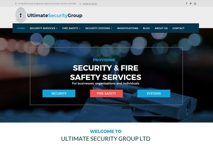 With a very competitive price, this website was a migration from an old website design, using a new branding style and logo as part of a company re-launch.