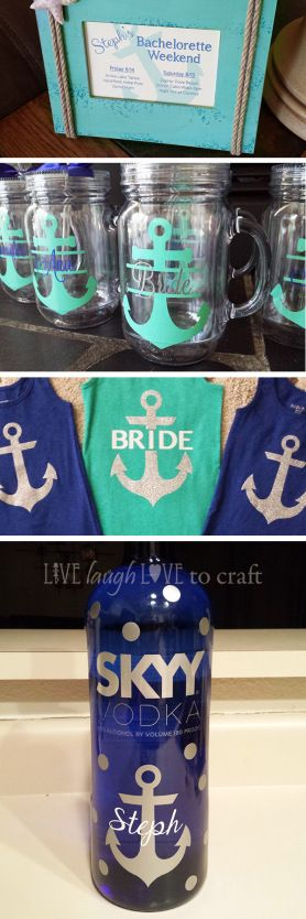 Nautical Bachelorette Party Ideas for Girls Weekend at the Lake