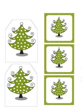 Vánoční jmenovky na dárky zdarma ke stažení, vánoční jmenovky tisk, free | Nerezové příbory