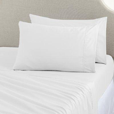 Home Fashion Designs Joyanna Rich 1000 Thread Count Sheet Set Size: Queen, Color: White
