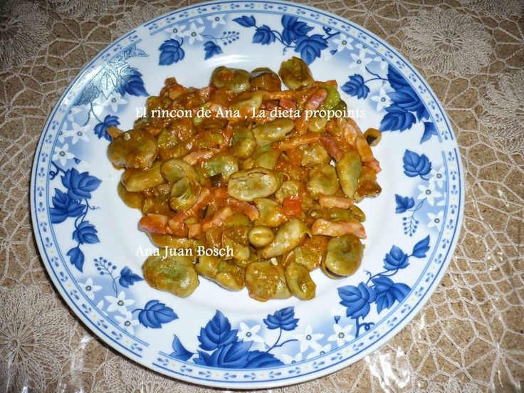 En la cocina con ana dieta pp habas con pisto en tu - Ana en la cocina ...