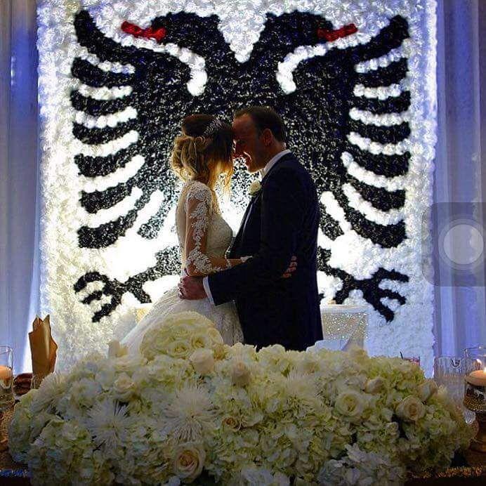Albanische Hochzeit