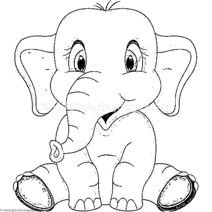 Free Download Happy Innocent Elephant Coloring Pages Coloring Coloringbook Coloringpages Elep Elephant Coloring Page Animal Coloring Pages Elephant Drawing
