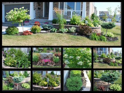 """Orlando and Terri said, """"3 weeks of hard work has paid off, we are very proud of our garden."""" You can vote for their photo athttp://bit.ly/12mw9nG"""