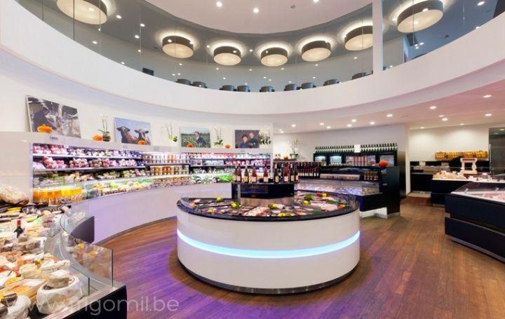 Dugardeyn butcher's shop by Frigomil, Roeselare – Belgium