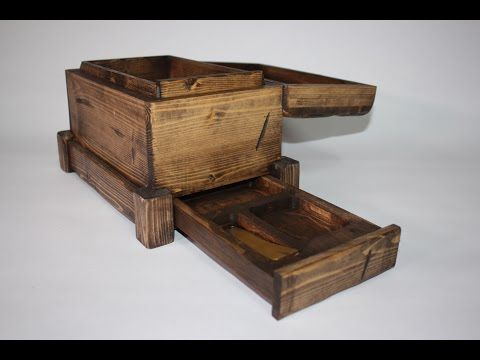 How to Build a Secret Compartment Box With Little More Than a 2 x 4