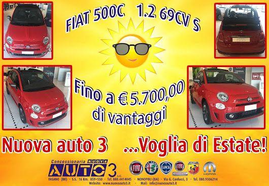 Voglia di Estate alla concessionaria Nuova Auto 3!  Vi aspettiamo!  www.nuovaauto3.it